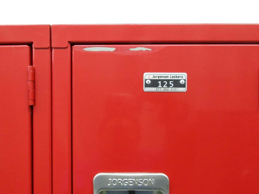 Red Triple Tier Box Style Lockersimage 4 image 4