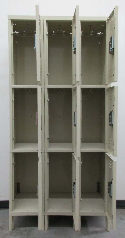 3-Tier Storage Lockersimage 3 image 3