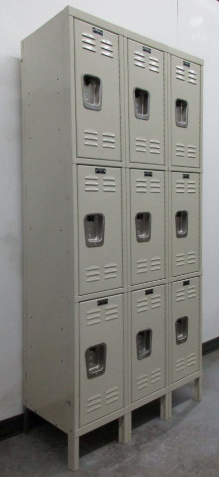 3-Tier Storage Lockers