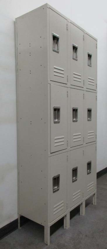 3-Tier Jorgenson Employee Lockers