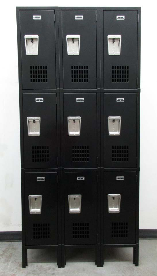 3-Tier Jorgenson Employee Lockersimage 2 image 2