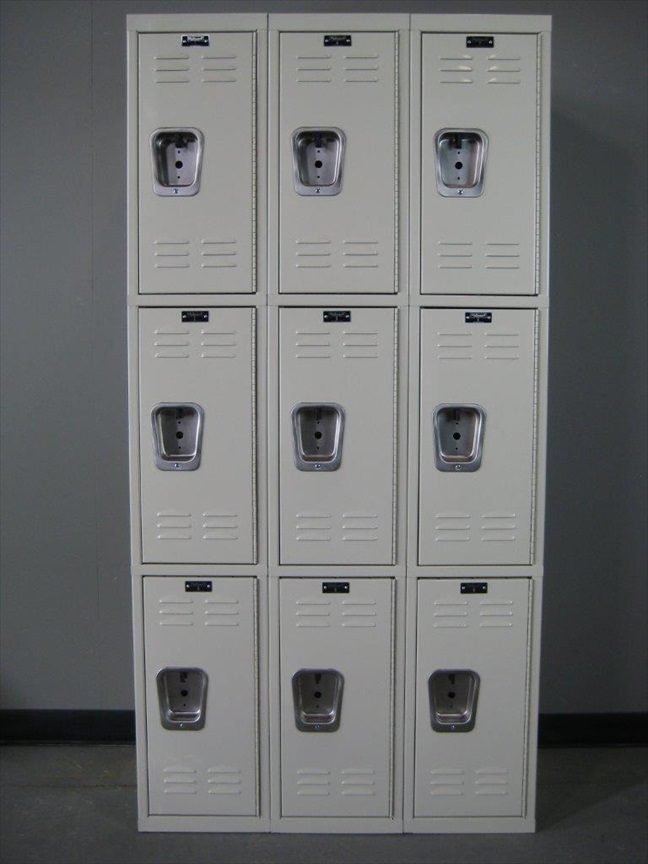 Standard Duty Three Tier Lockersimage 2 image 2