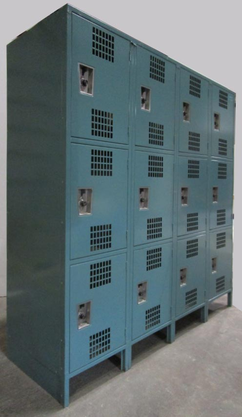 Ventilated Gym Locker