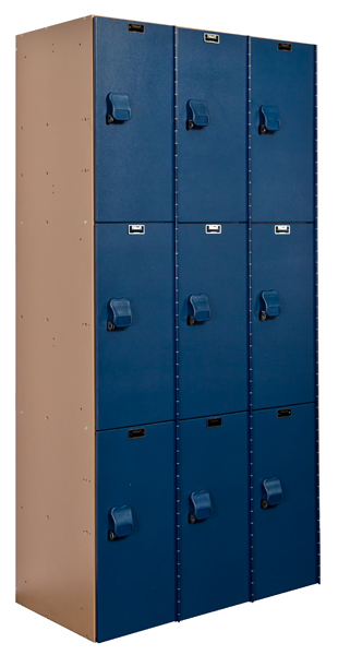 Plastic Storage Lockers