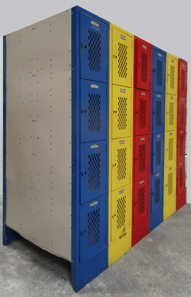 Heavy Duty Ventilated Gym Locker