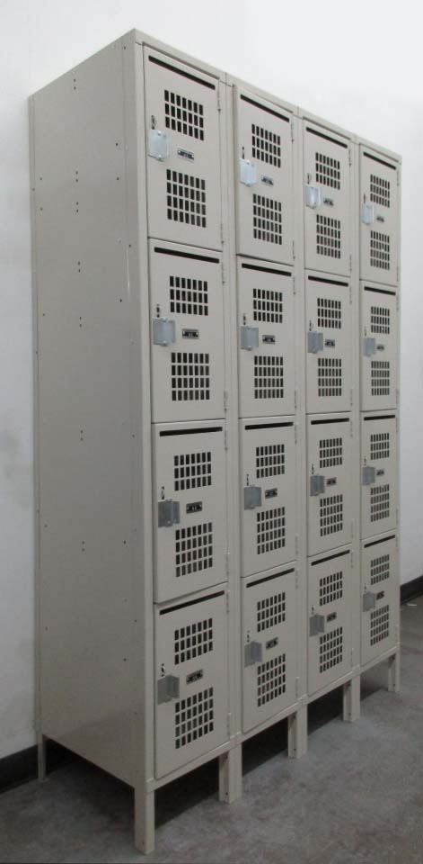 Lockers with Mail Slot