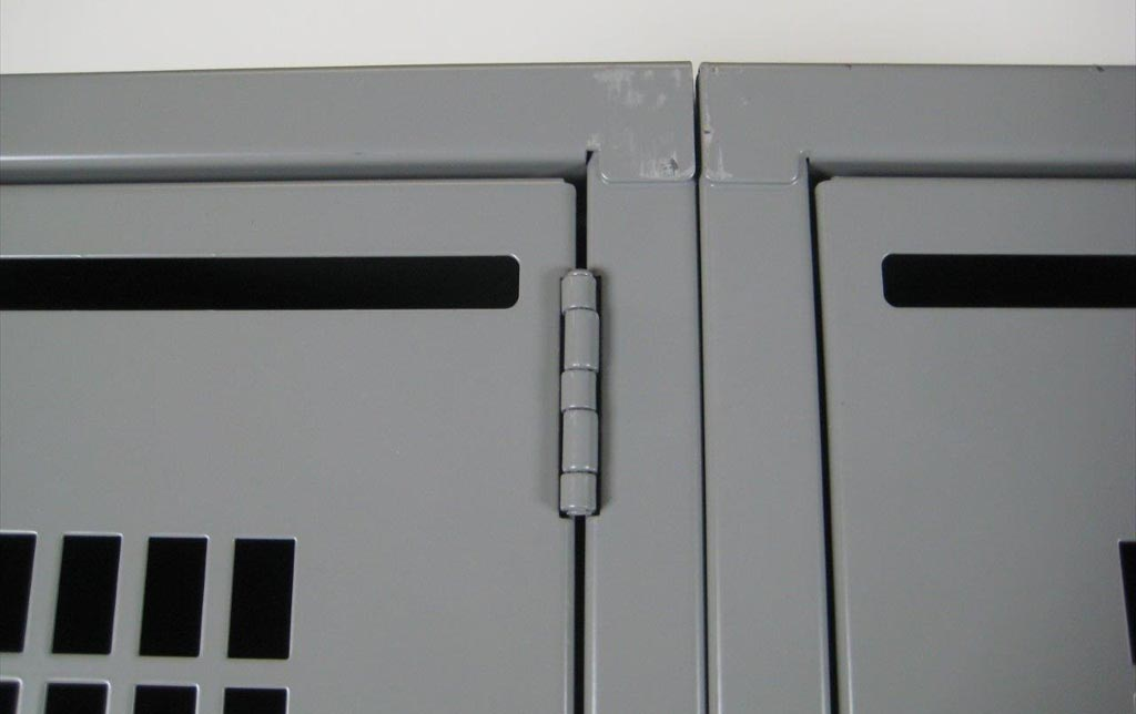 Four Tier School Lockers with Perforated Doorsimage 3 image 3