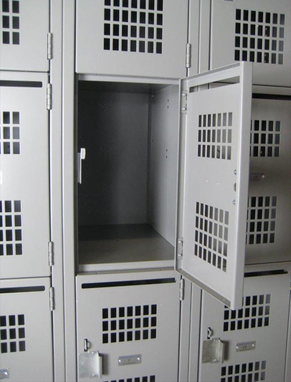 Four Tier School Lockers with Perforated Doorsimage 4 image 4