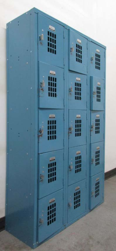 Gym Box Lockers