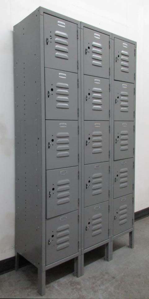 Standard Duty 5-tier Lockers