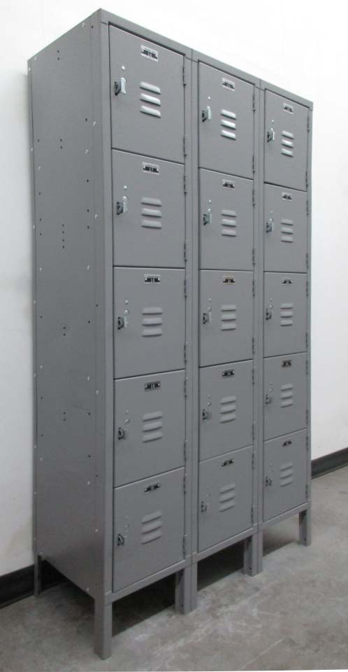 Gray Box Lockers
