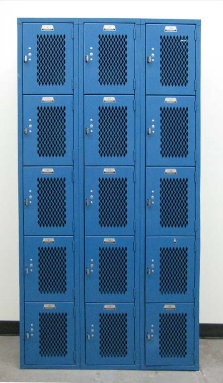 Five Tier Heavy Duty Gym Lockersimage 2 image 2