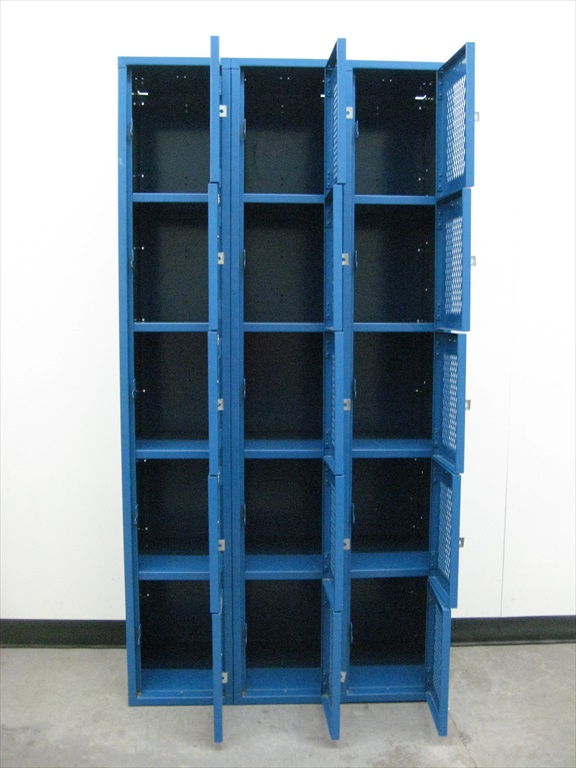 Five Tier Heavy Duty Gym Lockersimage 3 image 3