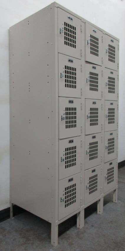 Visually Ventilated Box Lockers