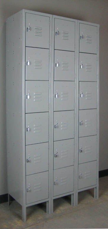 Gray Standard Duty Box Lockers