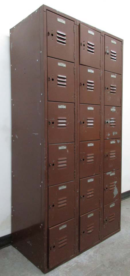 Six Tier Box Lockers