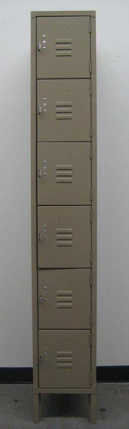 Penco 6-Tier Employee Box Lockersimage 2 image 2