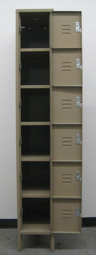 Penco 6-Tier Employee Box Lockersimage 3 image 3