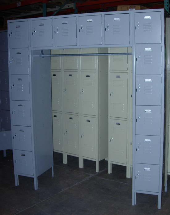 16 Person Lockers