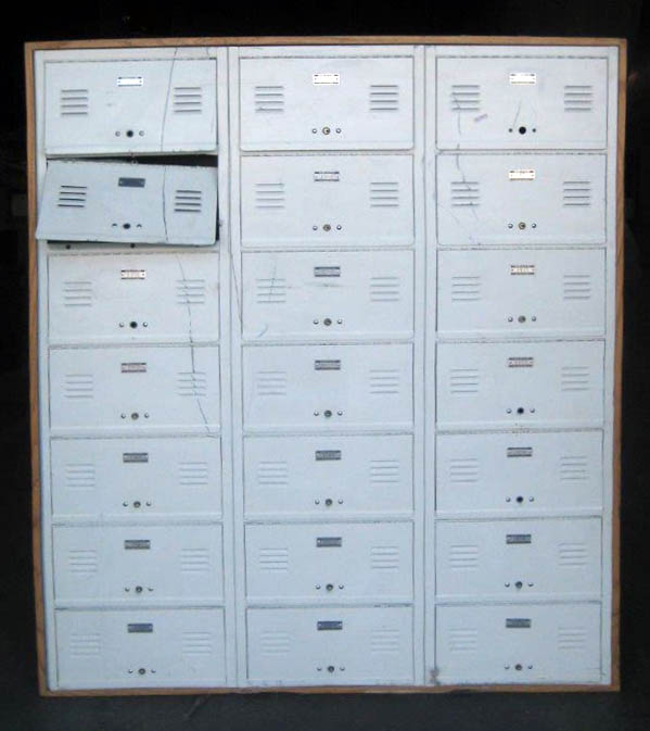 Metal Box Lockers - 7 Tier Used Lockers
