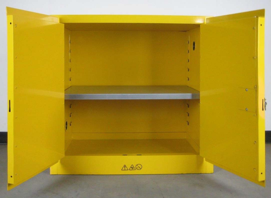 Yellow Flammable Storage Cabinetimage 4 image 4