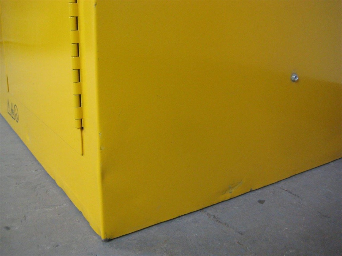 Yellow Flammable Storage Cabinetimage 3 image 3