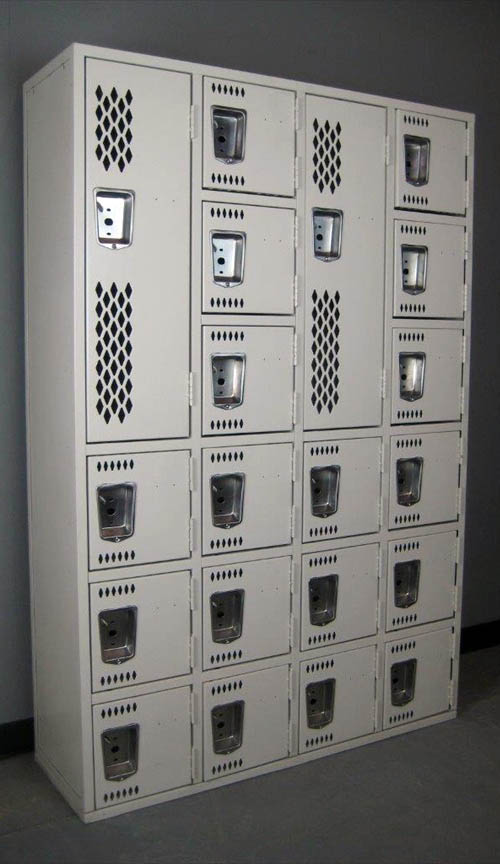 Mixed Heavy Duty Gym Lockers