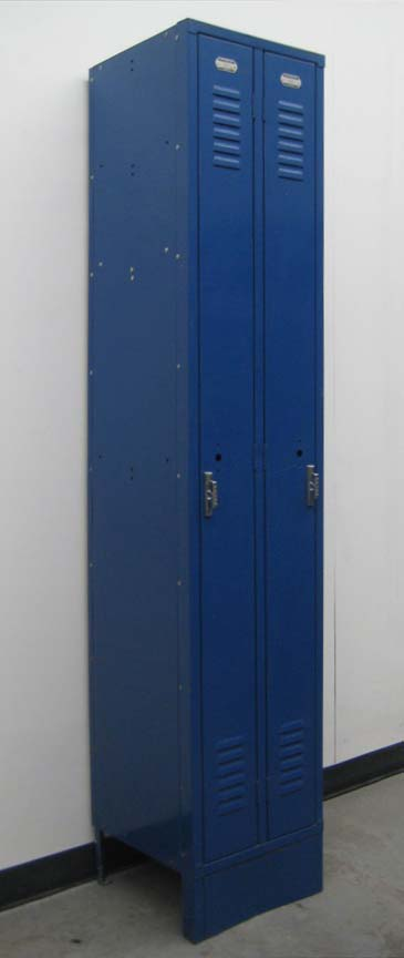 Blue 2 Person Lockers