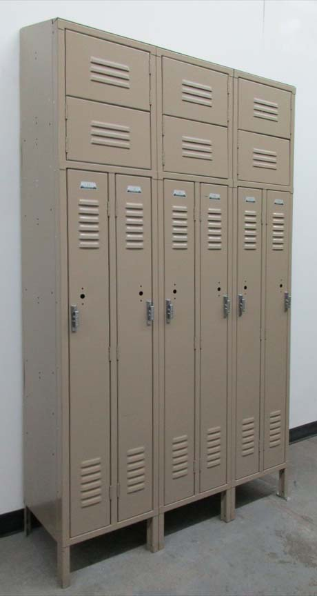 Standard Two Person Lockers