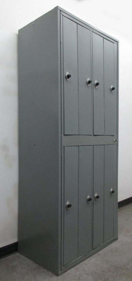 Uniform Lockers with Combination Lock