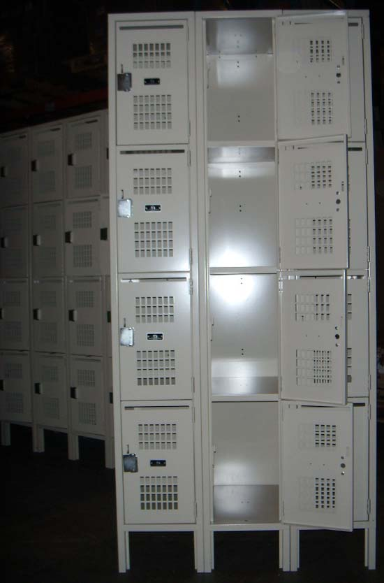 Ventilated Box Lockers - 4 Tier Lockersimage 2 image 2