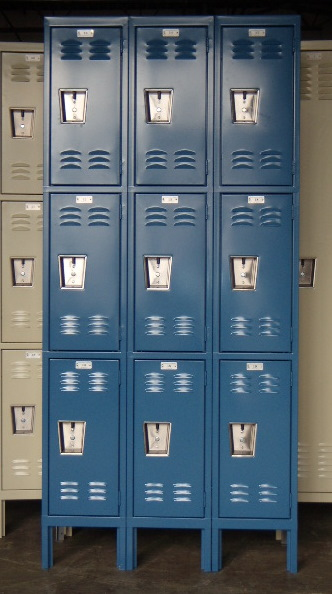 Brand New 3-Tier Metal Lockers