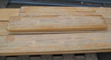 Used Locker Bench Tops
