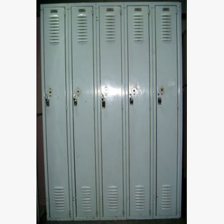 Used Solid Steel Lockers