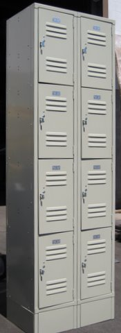 Small Lockers (4 Tier)image 3 image 3