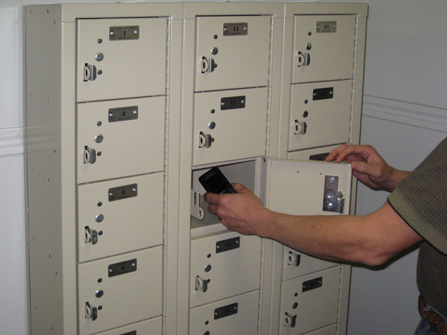 Cell Phone Box Lockers