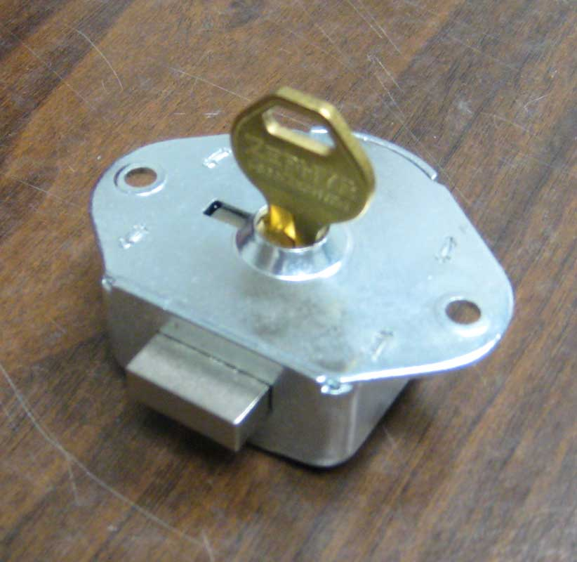 Used Key Operated Locks (Built-in)