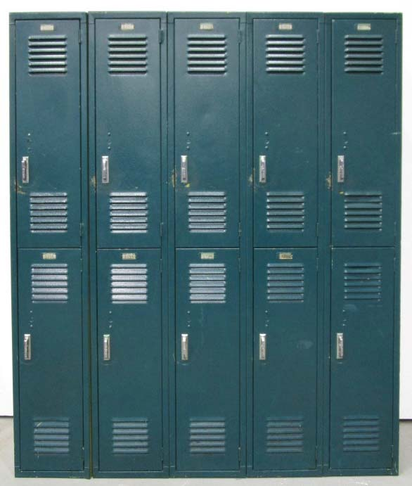 Vintage Industrial Lockers