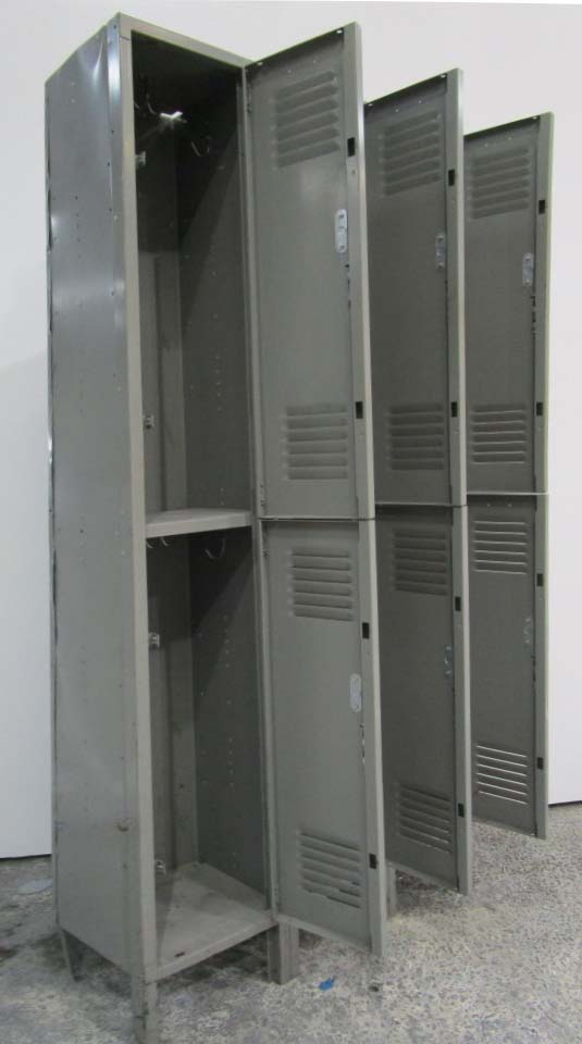 Lyon Metal Double Tier Lockersimage 2 image 2