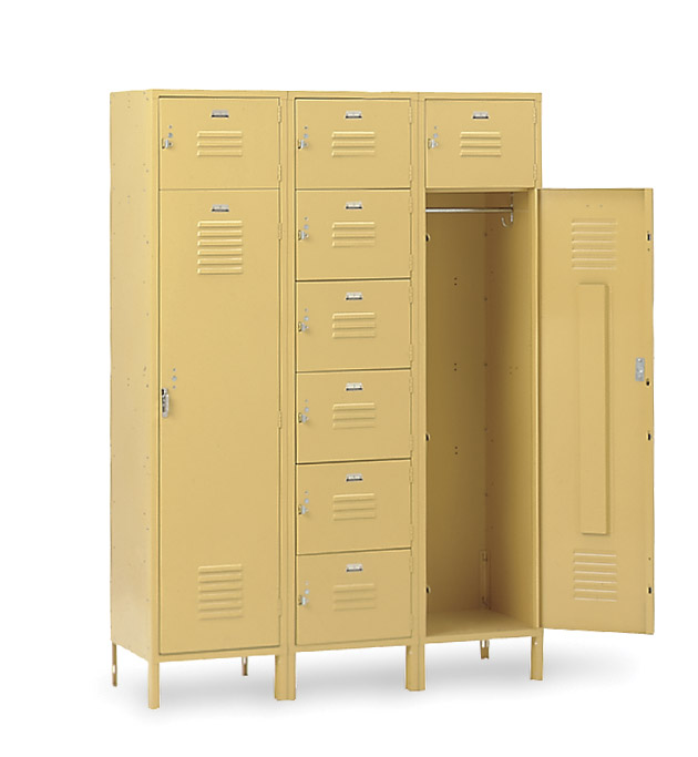 8 Person Locker - Office Lockers