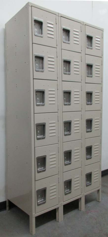 Employee Box Lockers with Legs