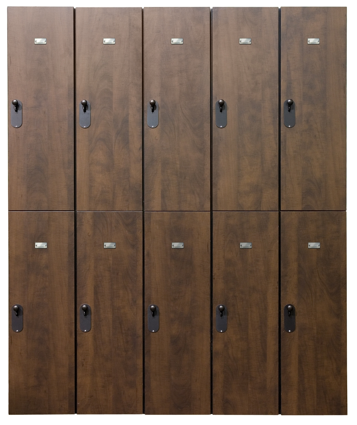 New Plastic Laminate Wood Lockers image 2 image 2