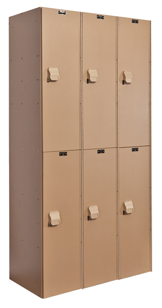 New Plastic Lockers