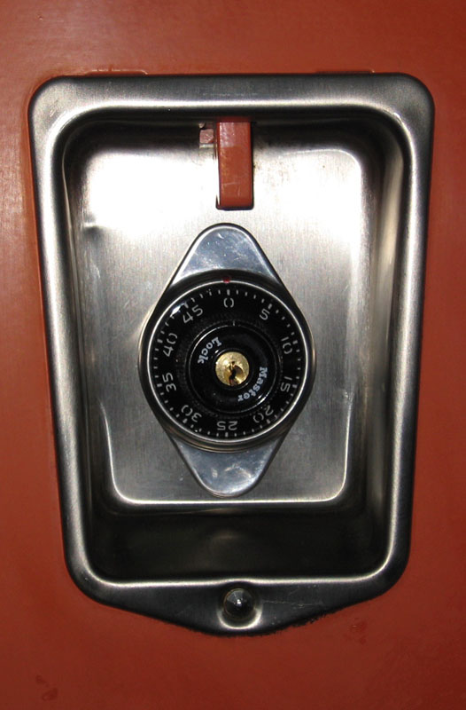Built In Combination Locks (School Locks)