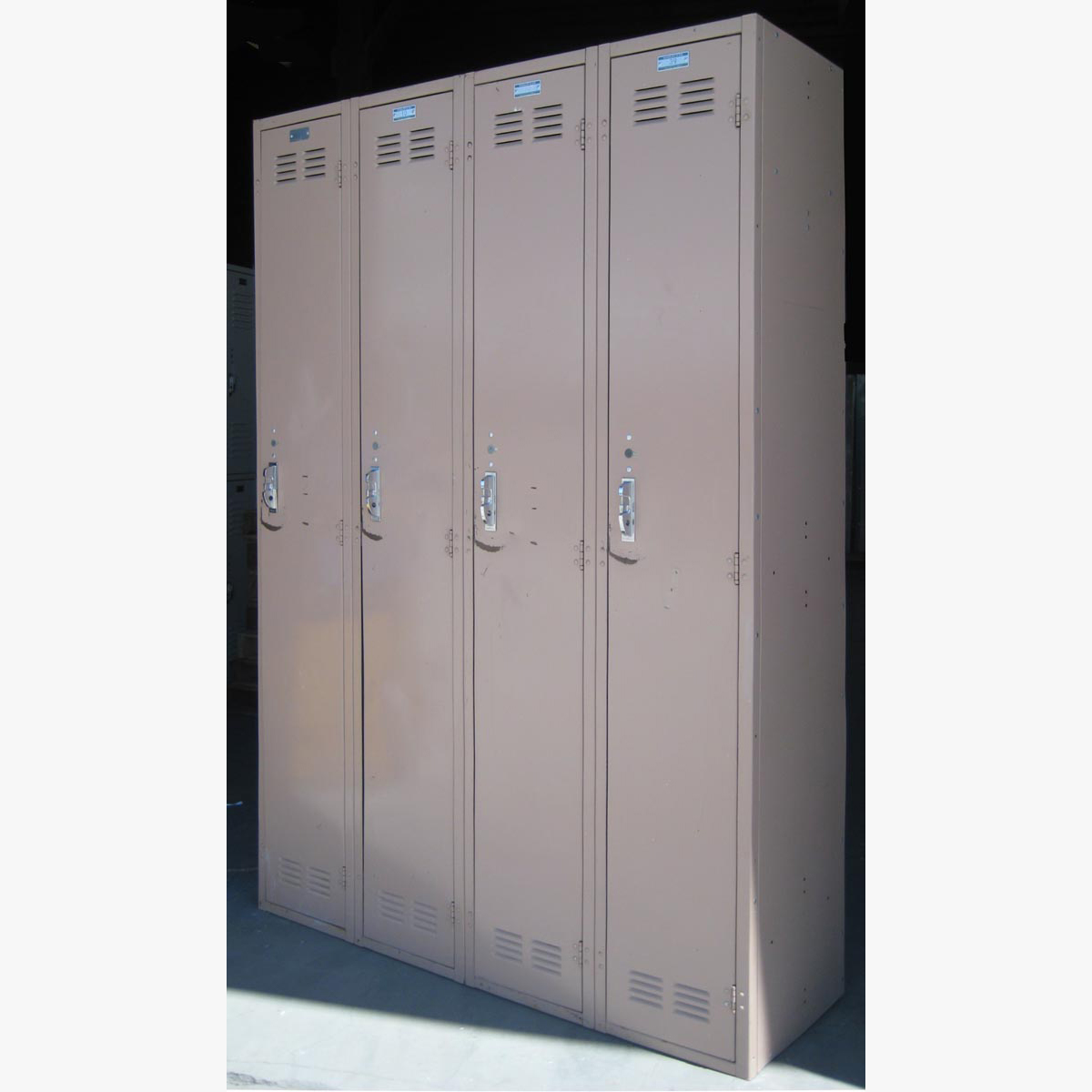 Single Tier Metal Storage Lockers
