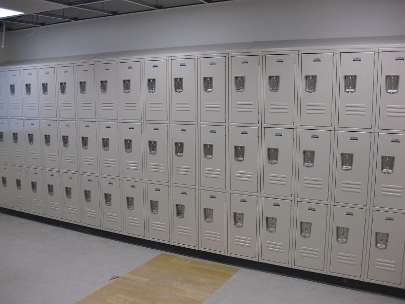 Metal Lockers - Triple Tier with Recessed Handles