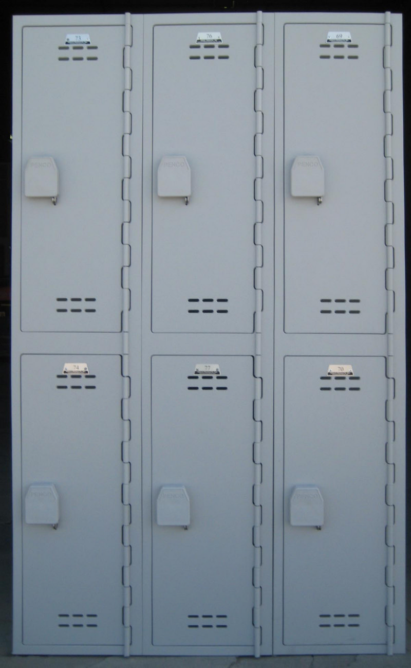 Used Plastic Lockers