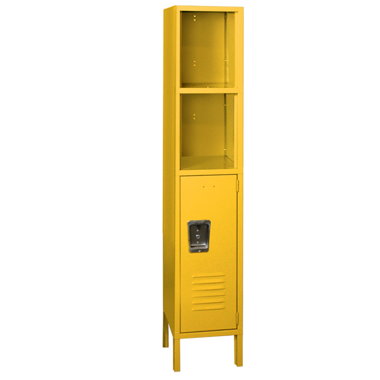 Kids Yellow Locker with Cubbies image 3