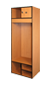 Used Wood & Plastic Lockers