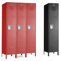 New Single Tier Lockers